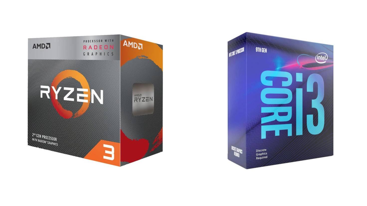 amd-ryzen-3200g-intel-core-i3-9100f