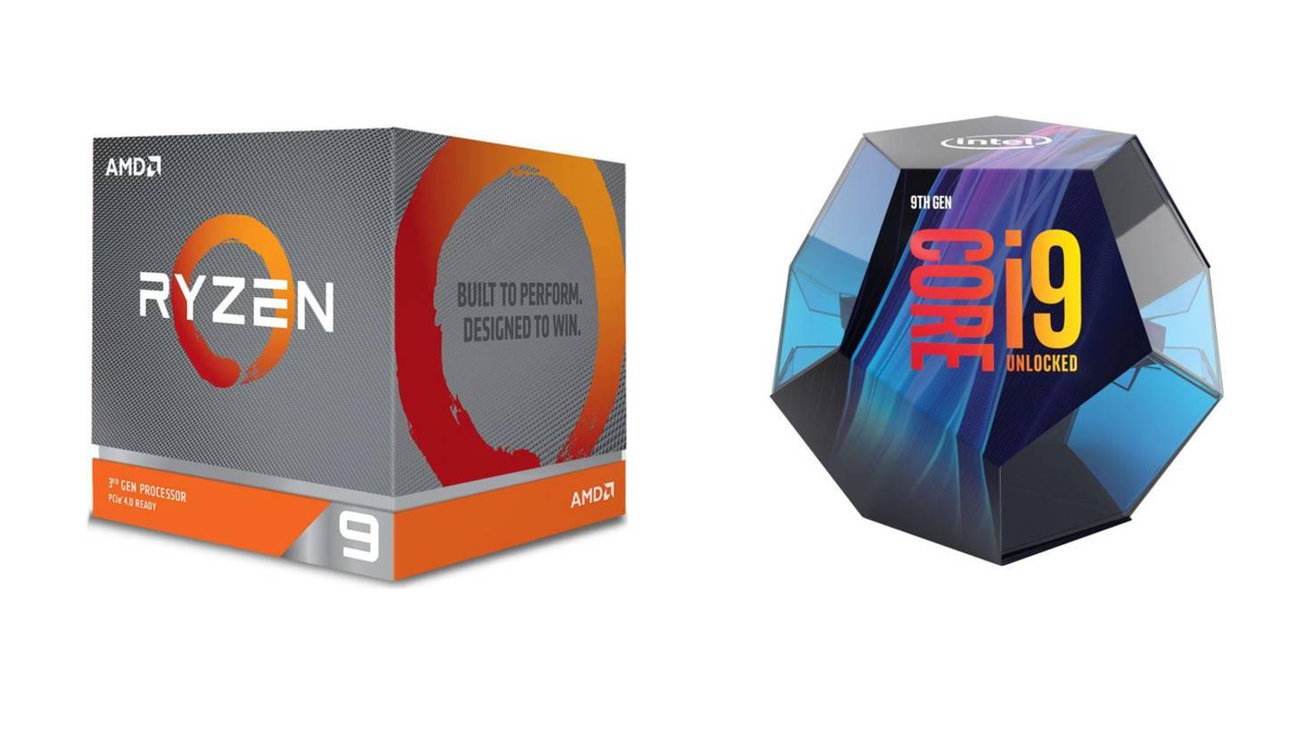 amd-ryzen-3900x-intel-core-i9-9900k-prozessor-chip