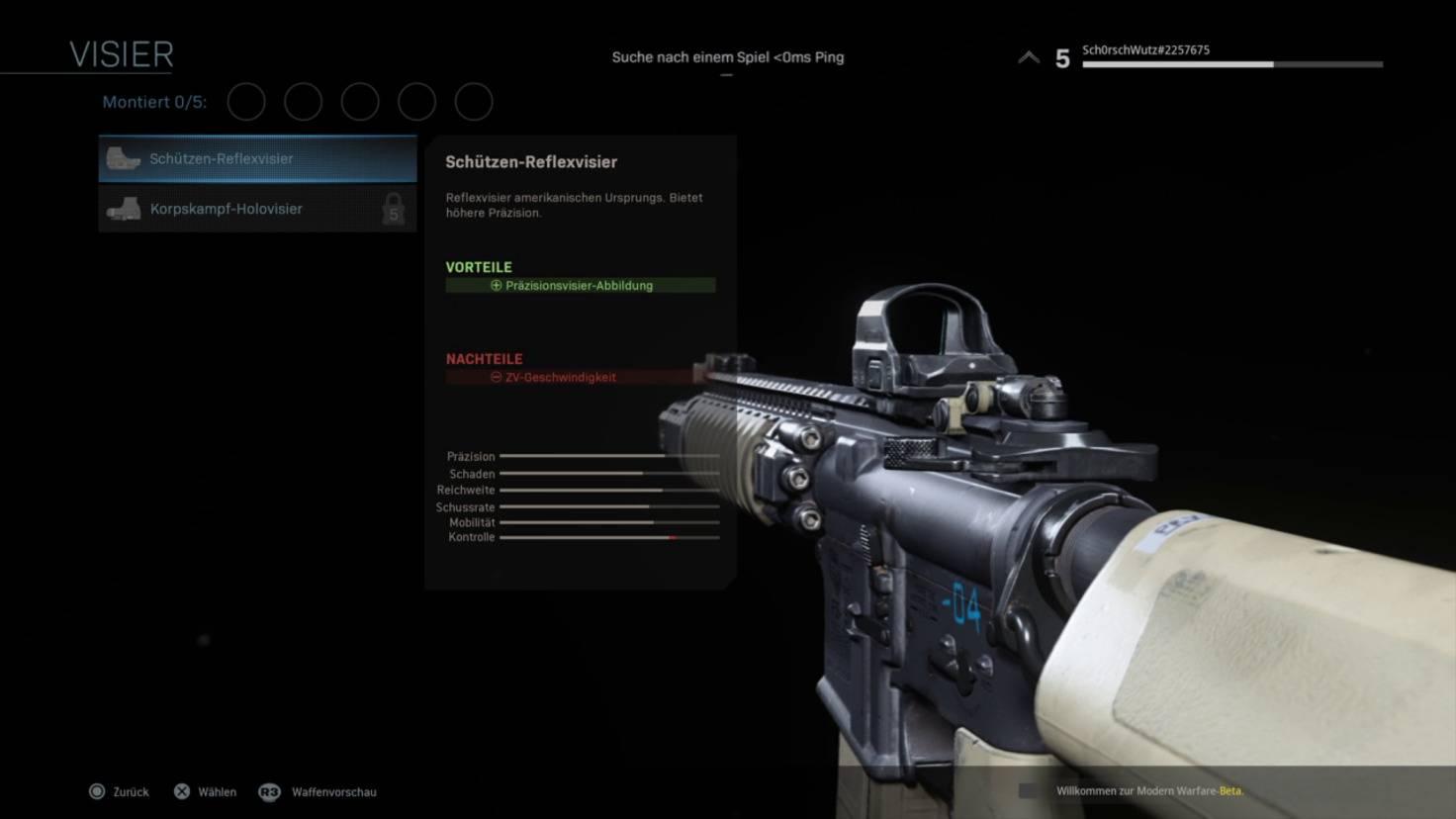 call-of-duty-modern-warfare-beta-m4a1-rotpunkt