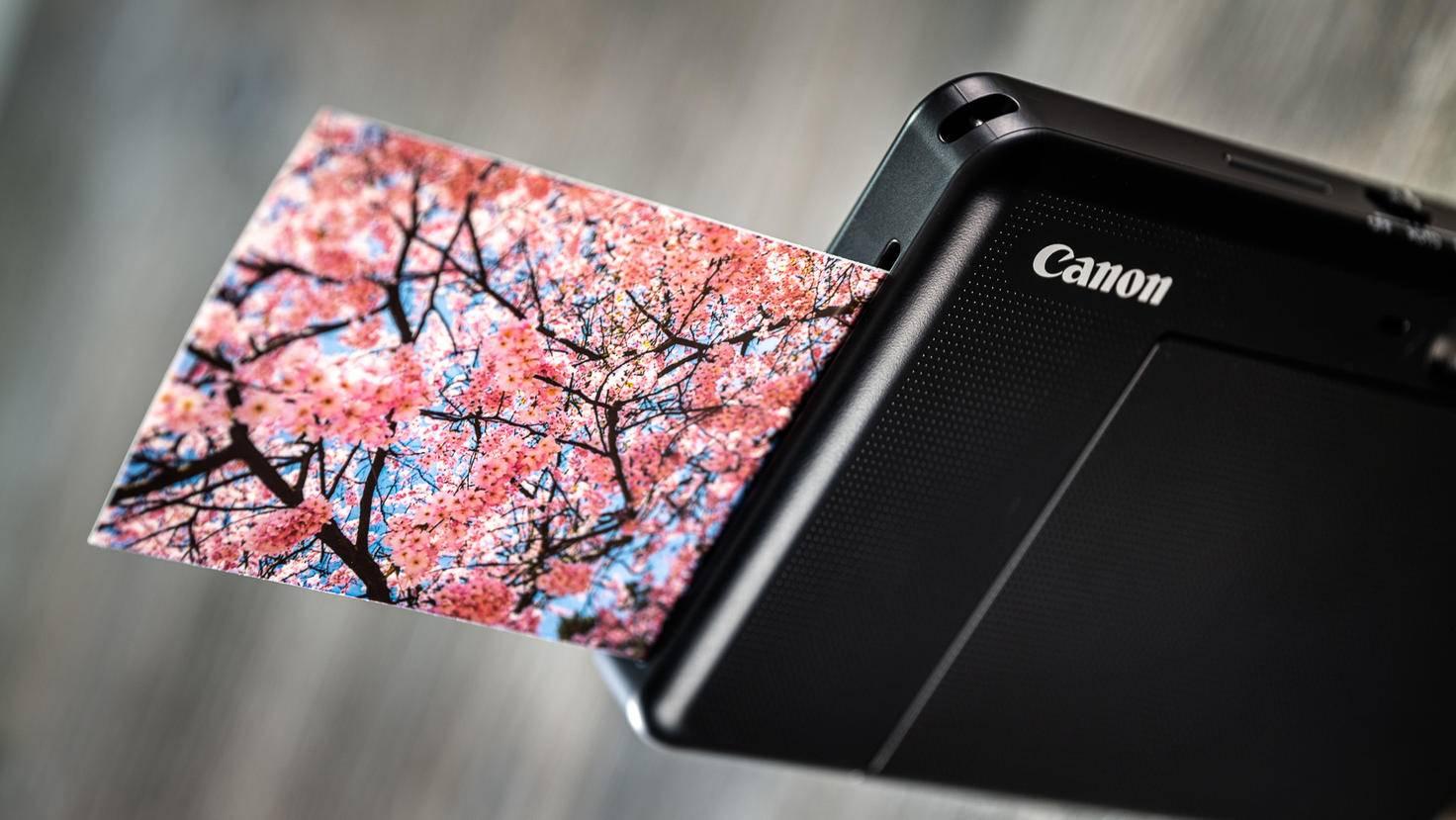 Canon Zoemini S Zink-Druck