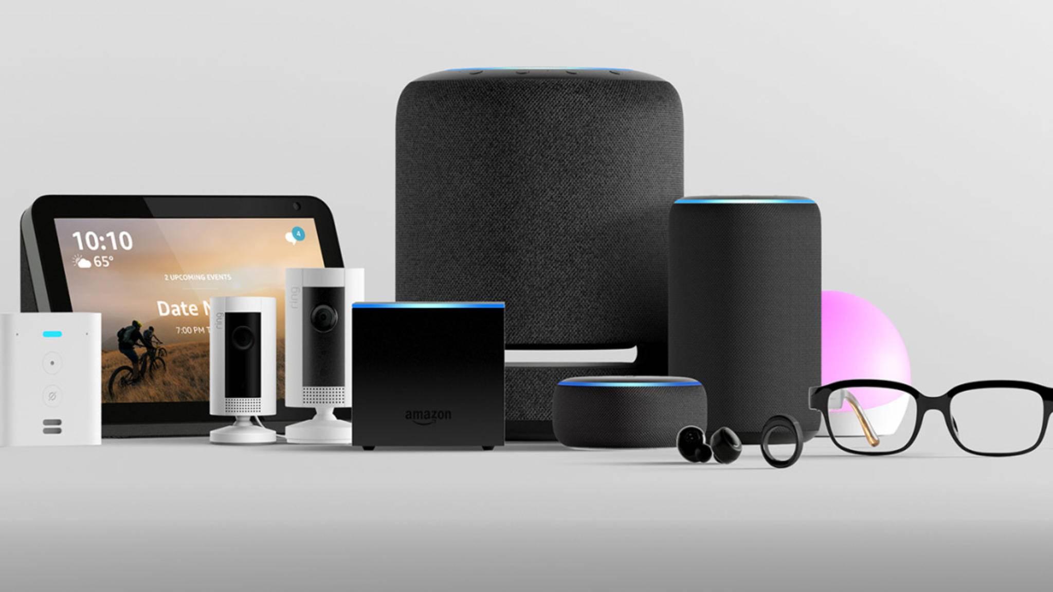 Die Amazon-Echo-Familie hat bereits eine beträchtliche Größe.