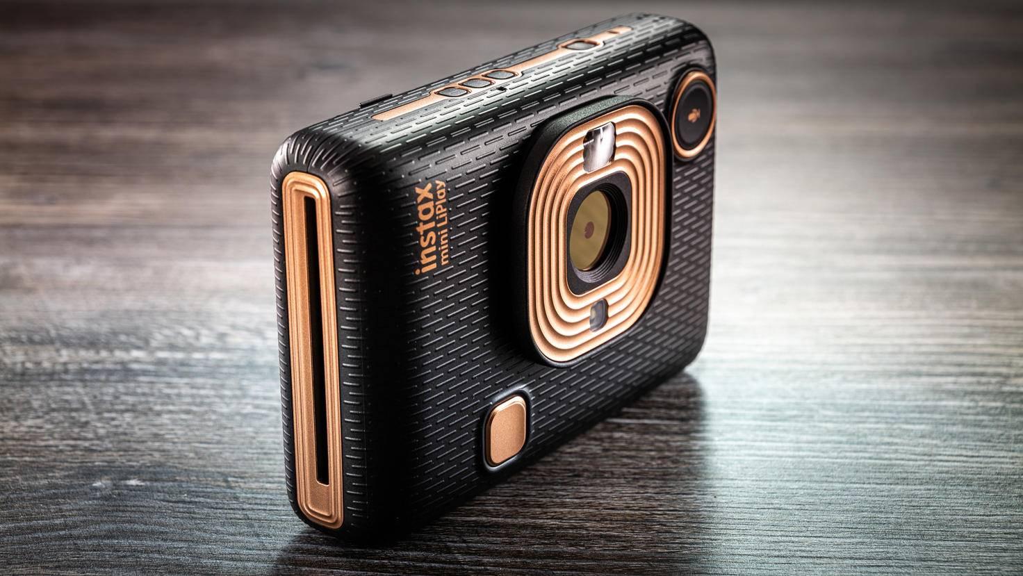 Fujifilm Instax MiniLiPlay seitlich