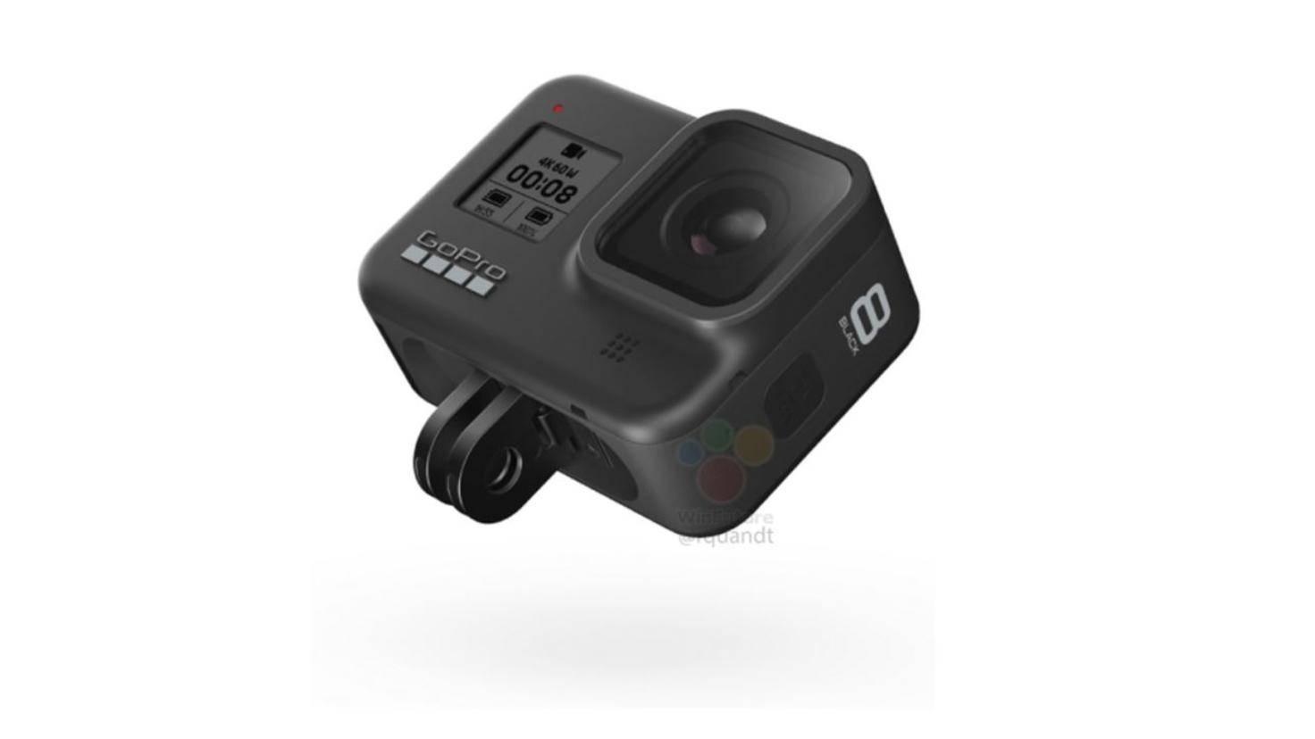 GoPro Hero 8 Black mit Halterung