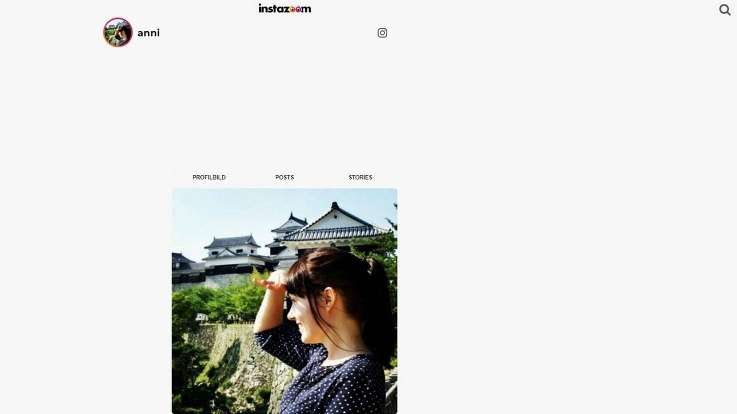 Instazoom Instagram Profilbild vergrößern