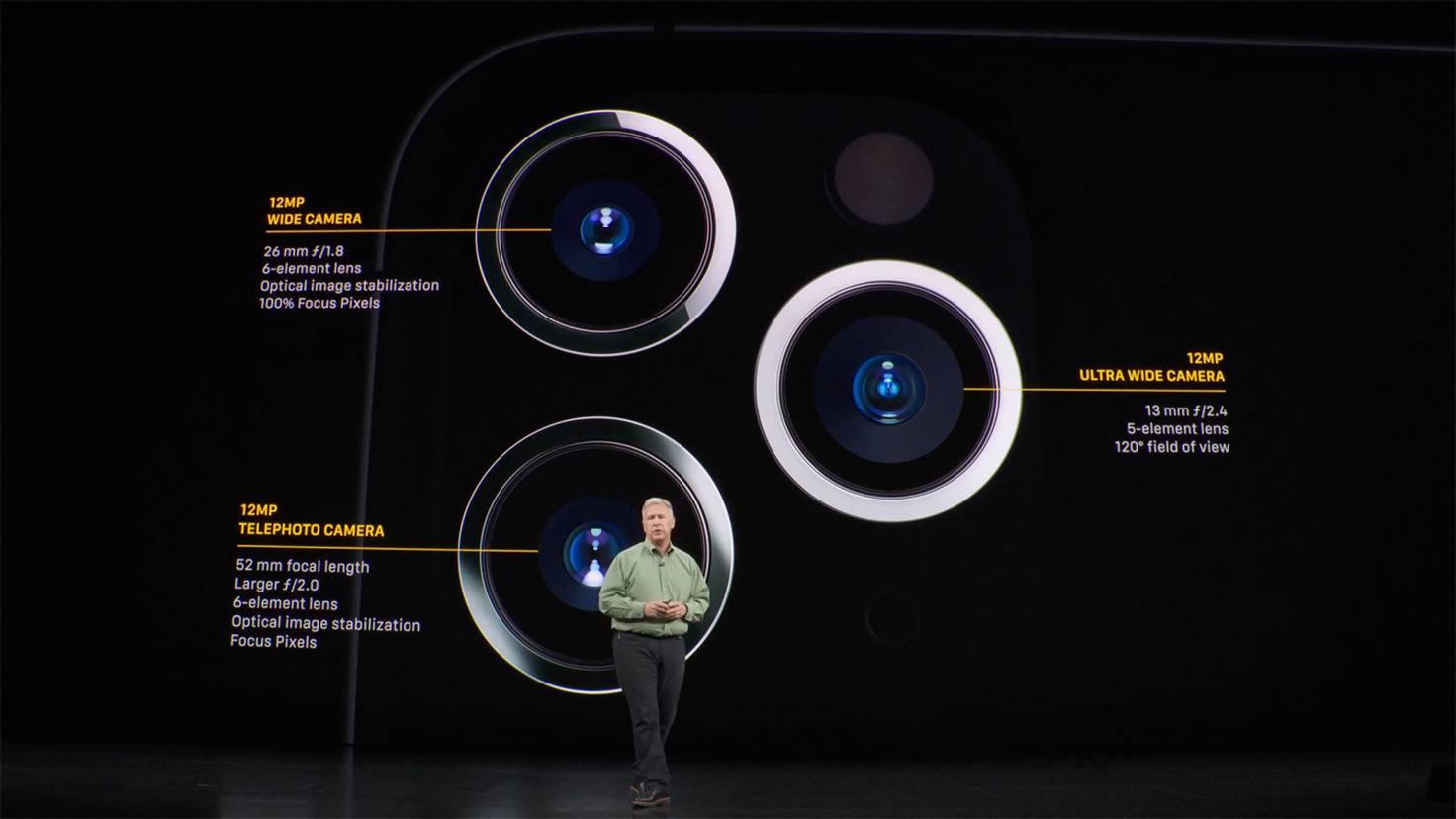 iPhone 11 Pro Kameras
