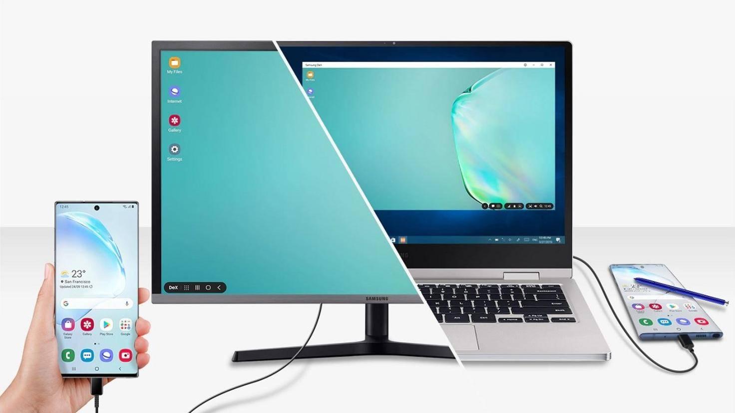 Samsung DeX für Galaxy Note 10 und 10 Plus