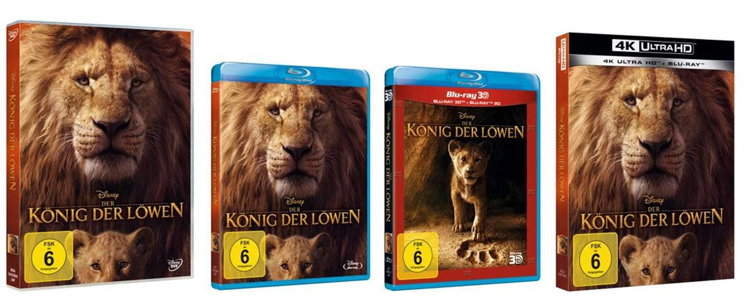 König der Löwen Packshot