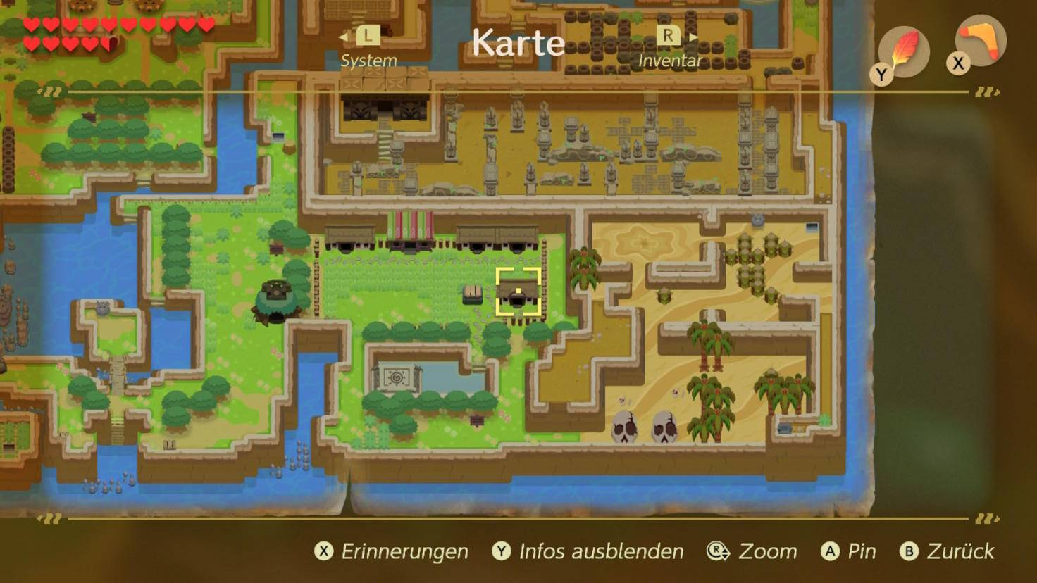 zelda-links-awakening-tauschgeschaeft-ananas