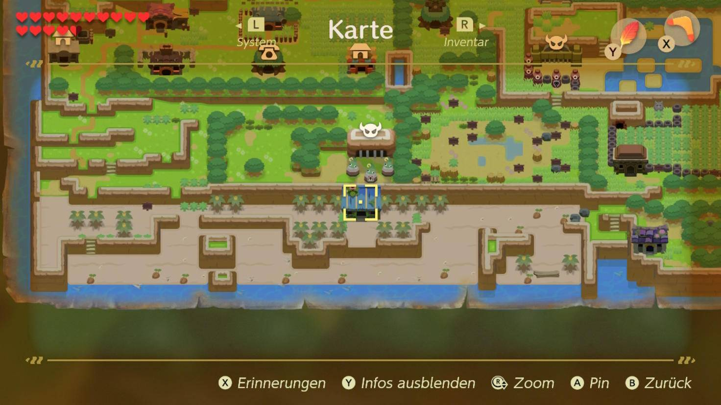 zelda-links-awakening-tauschgeschaeft-bananen