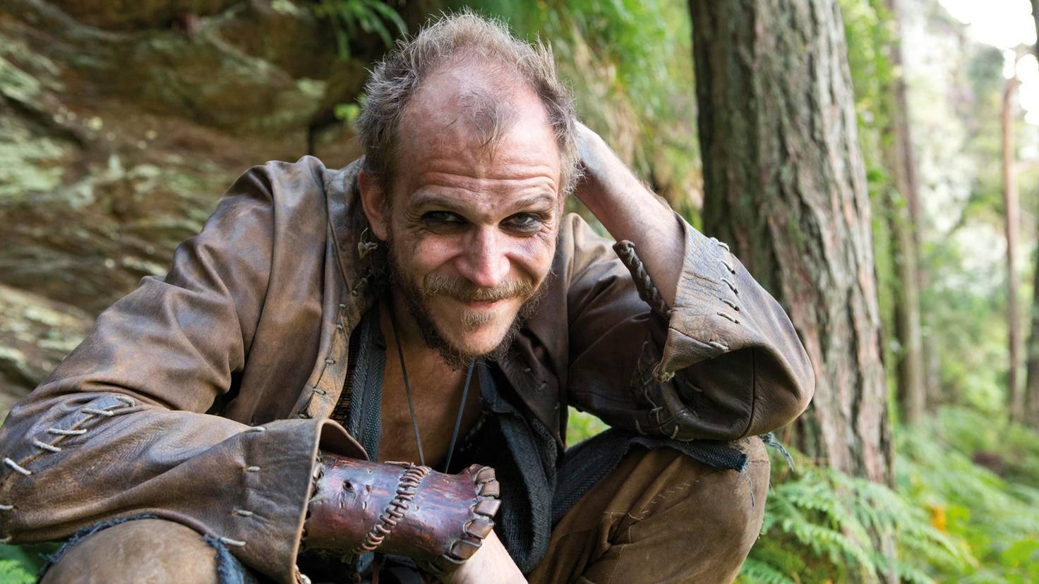 Gustaf Skarsgård als Floki in Staffel 1 von Vikings