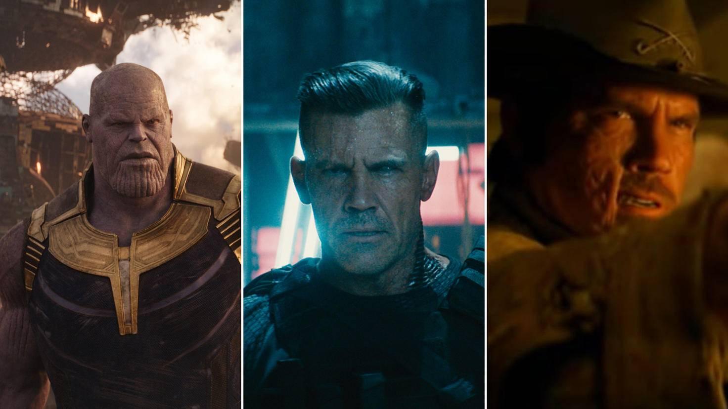 Josh Brolin als Thanos Cable und Jonah Hex