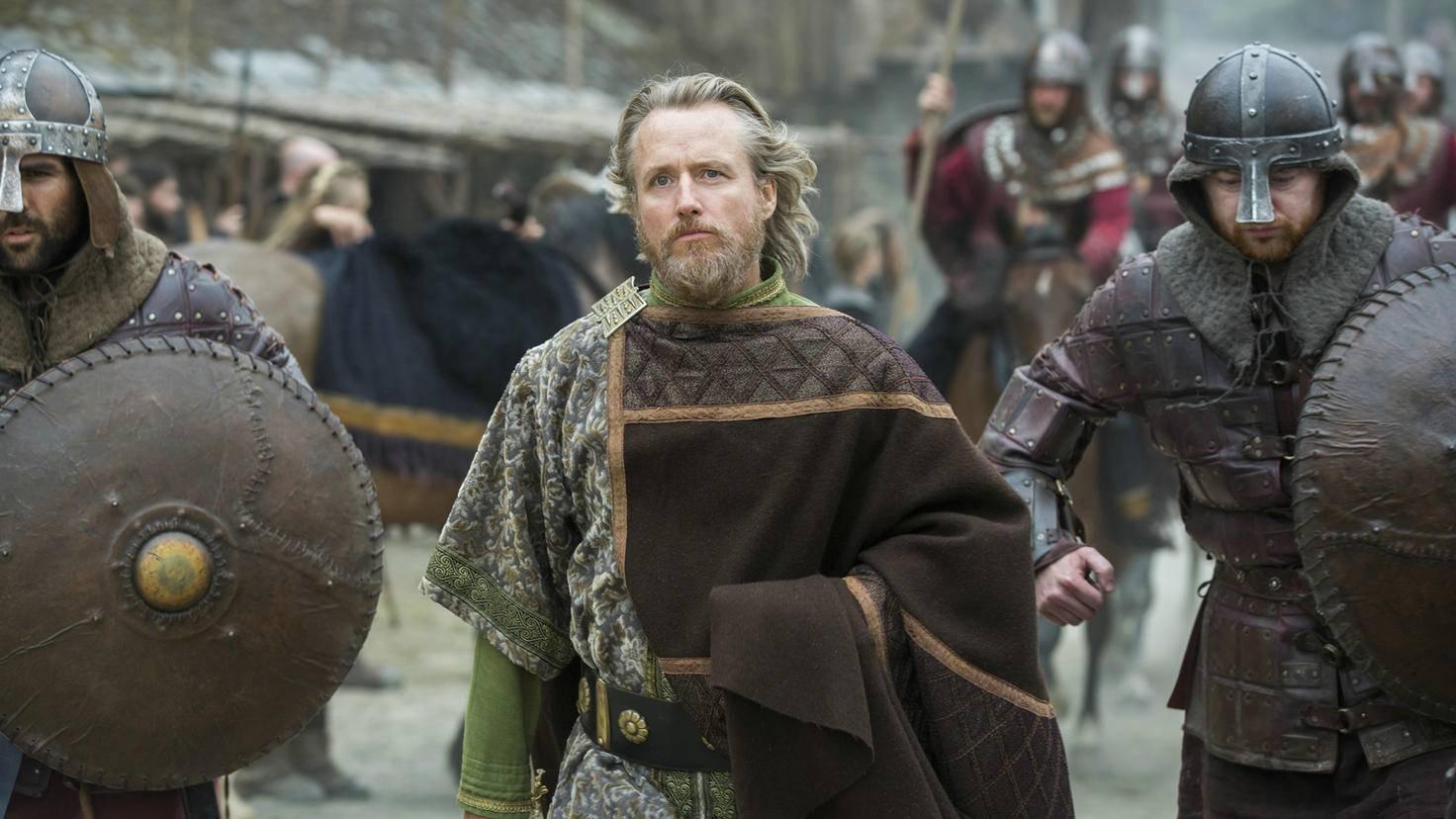 König Egbert Staffel 3 Vikings