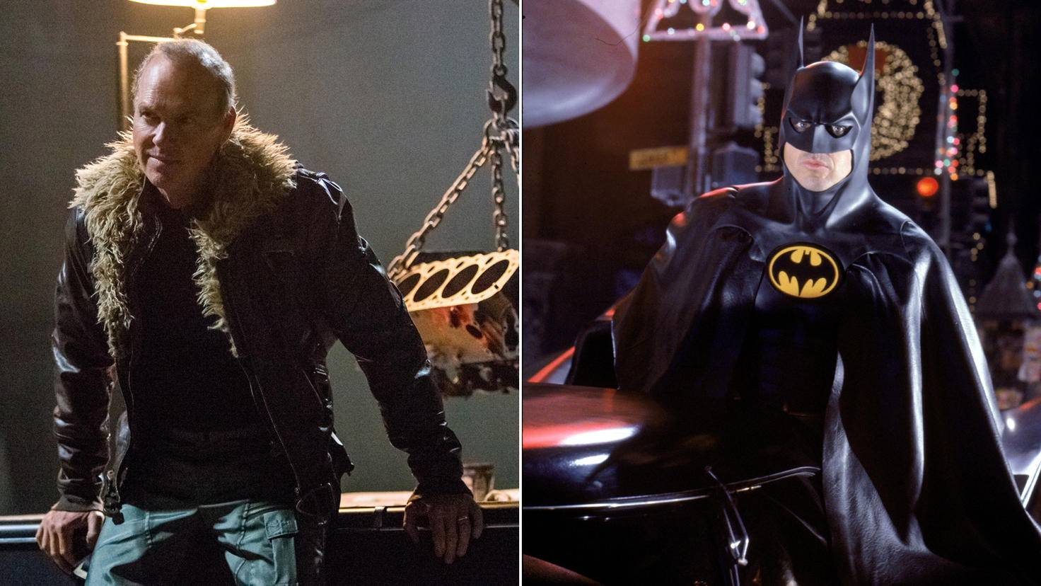Michael Keaton in Spider-Man Homecoming und Batman