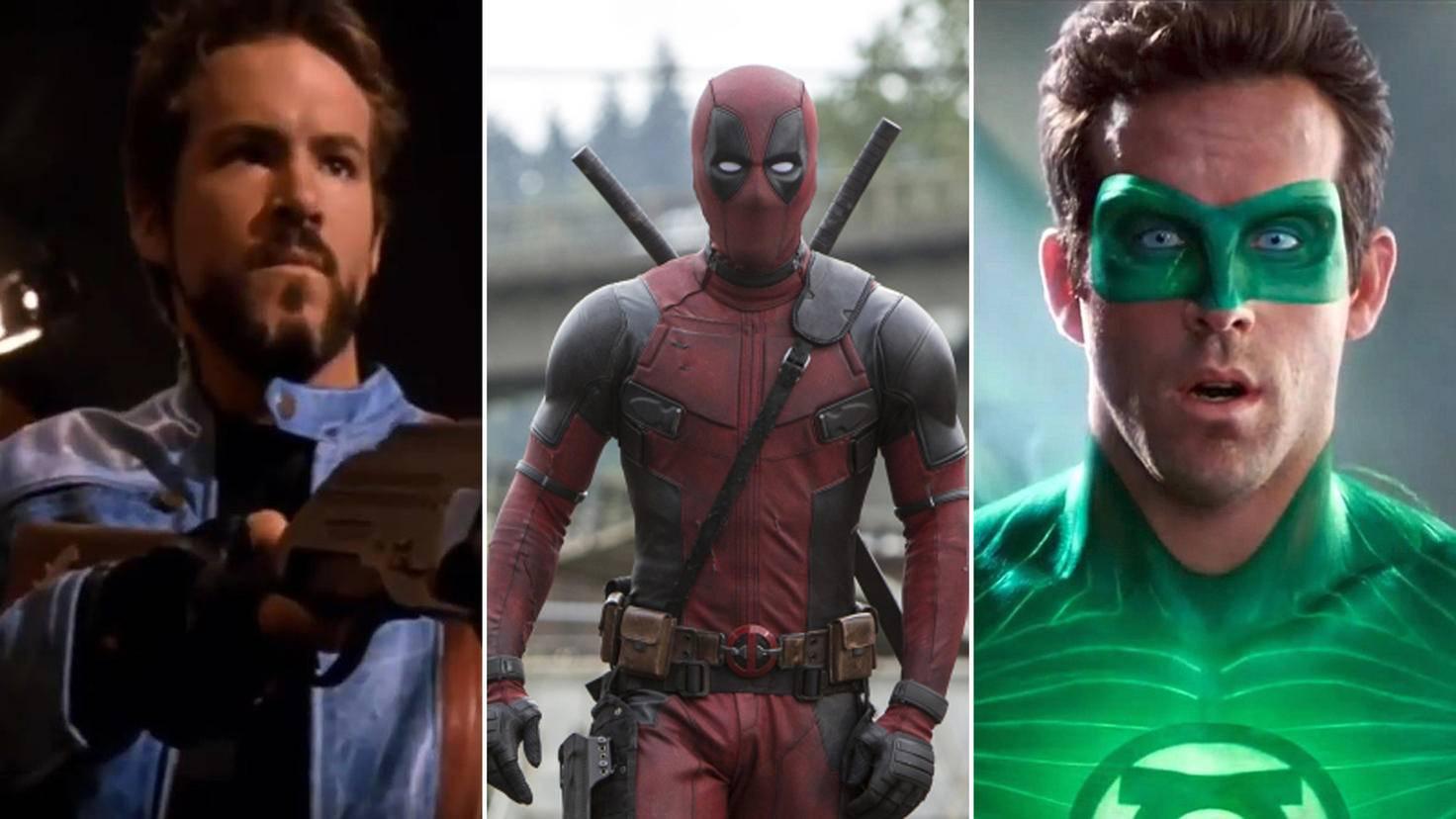 Ryan Reynolds Blade vs Deadpool vs Green Lantern
