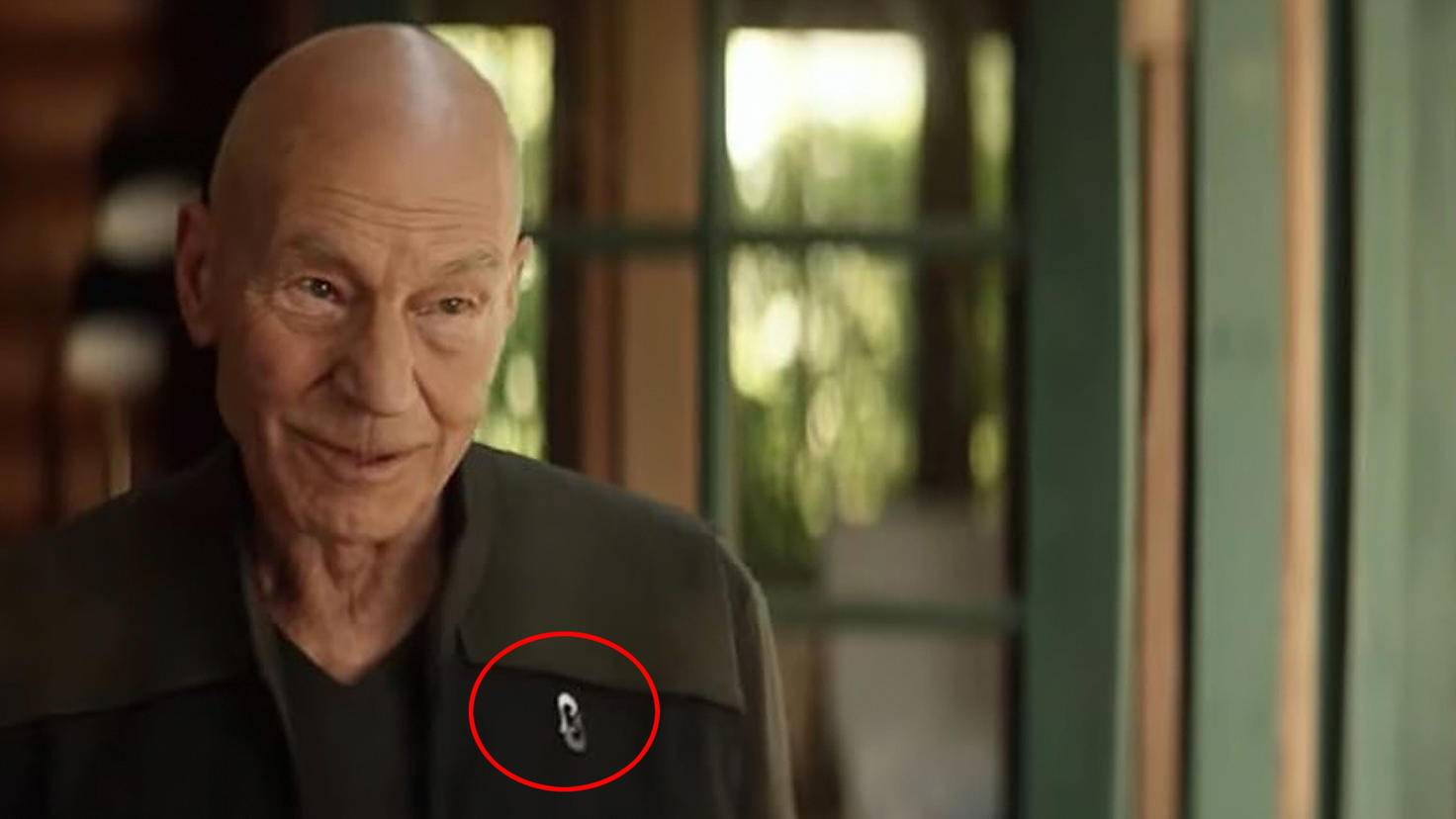 Star Trek Picard-Abzeichen-Youtube-Prime Video UK