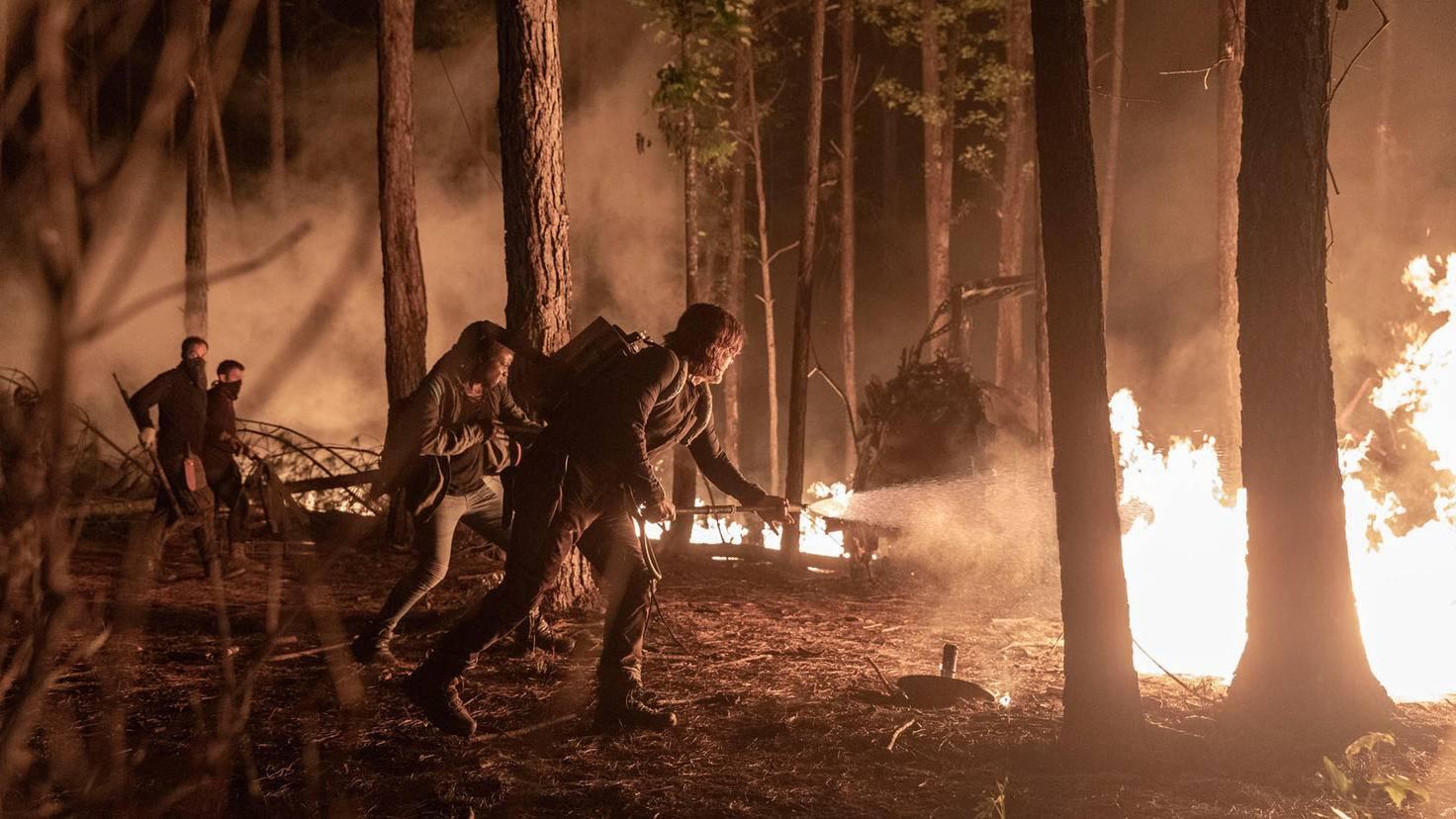 The Walking Dead-S10E01-Daryl-Michonne-Jackson Lee Davis-AMC