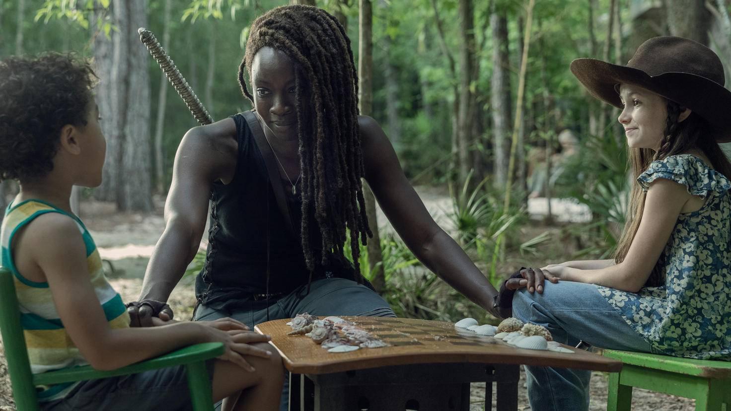 The Walking Dead-S10E01-Michonne-Judith-RJ-Jackson Lee Davis-AMC