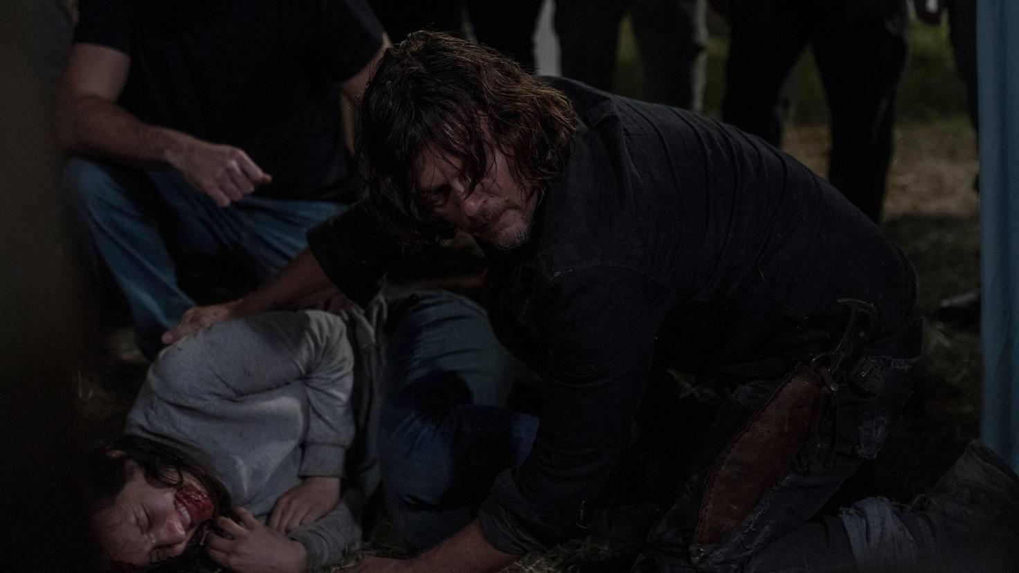 The Walking Dead-S10E04-Daryl-Lydia-Eliza Morse-AMC