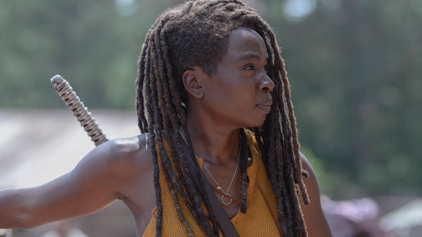 The Walking Dead-S10E04-Michonne-Gene Page-AMC