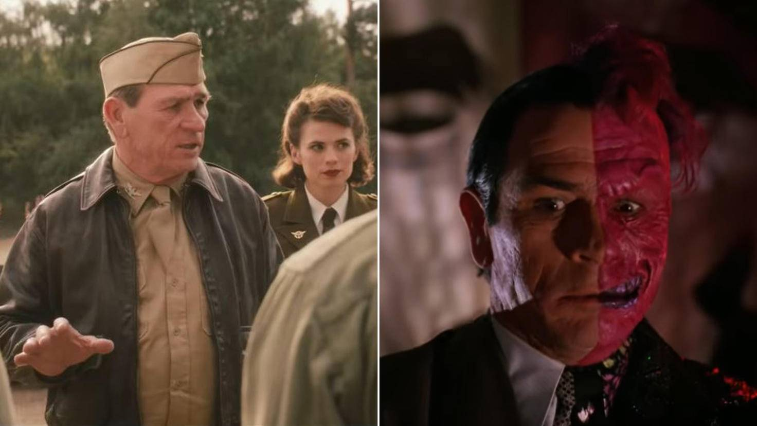 Tommy Lee Jones in Captain America The First Avenger und Batman Forever