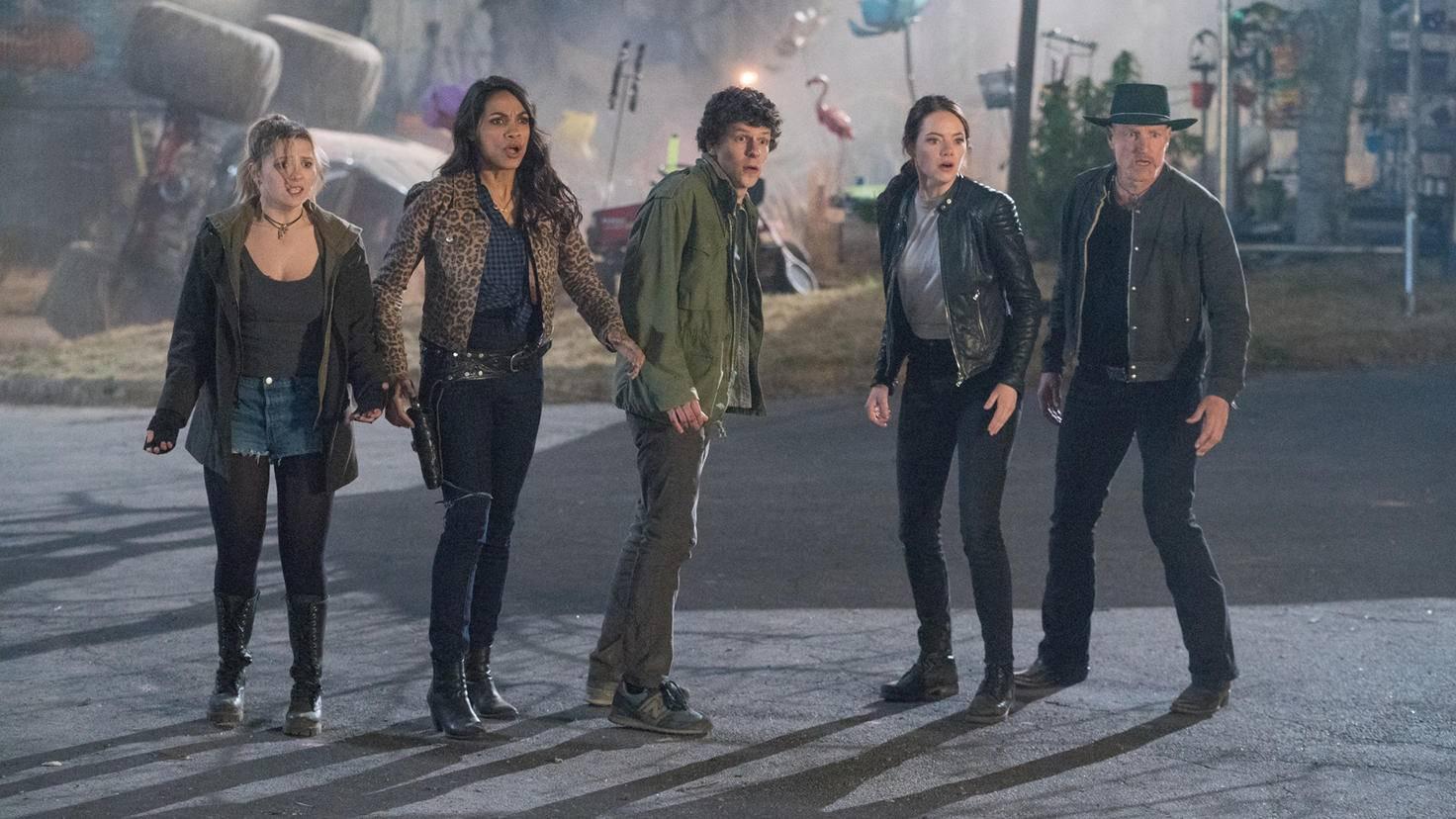 Zentraler Cast in Zombieland 2