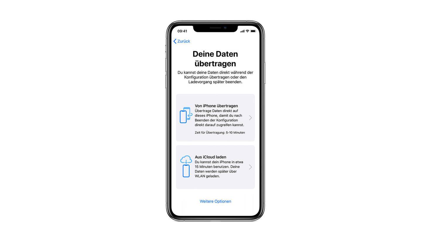 datentransfer-ios