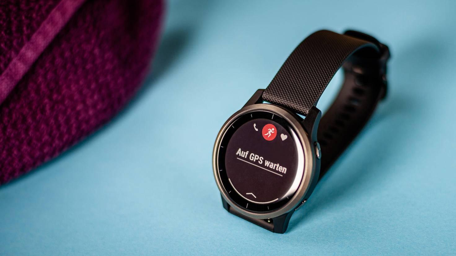 Integriertes GPS gehört zu den Stärken der Smartwatch.