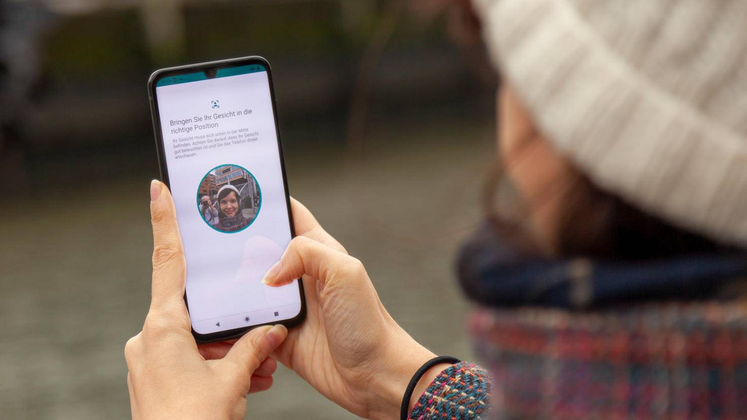 Motorola One Zoom Gesichtserkennung