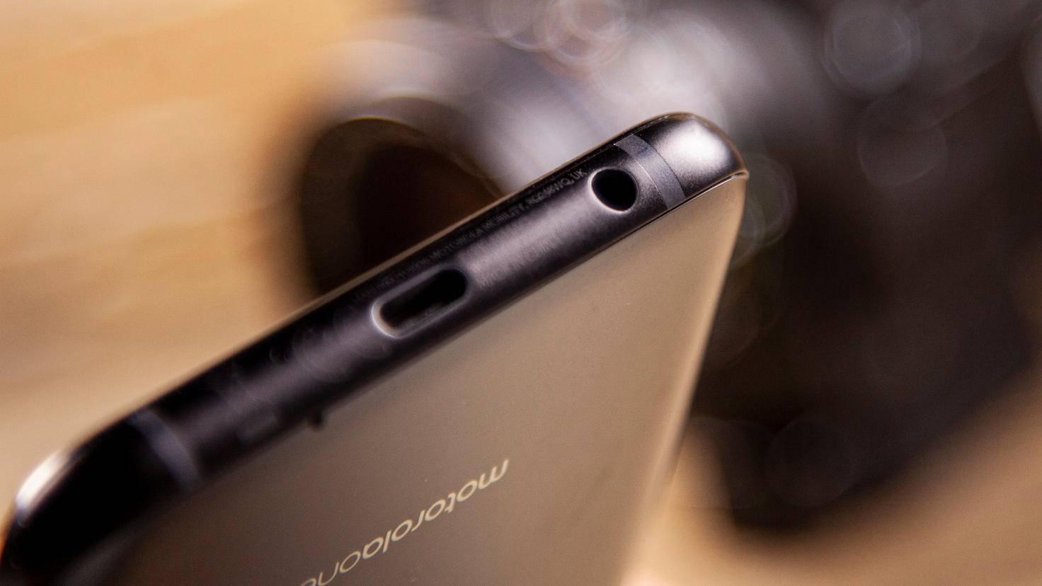 Motorola One Zoom Audio-Klinke