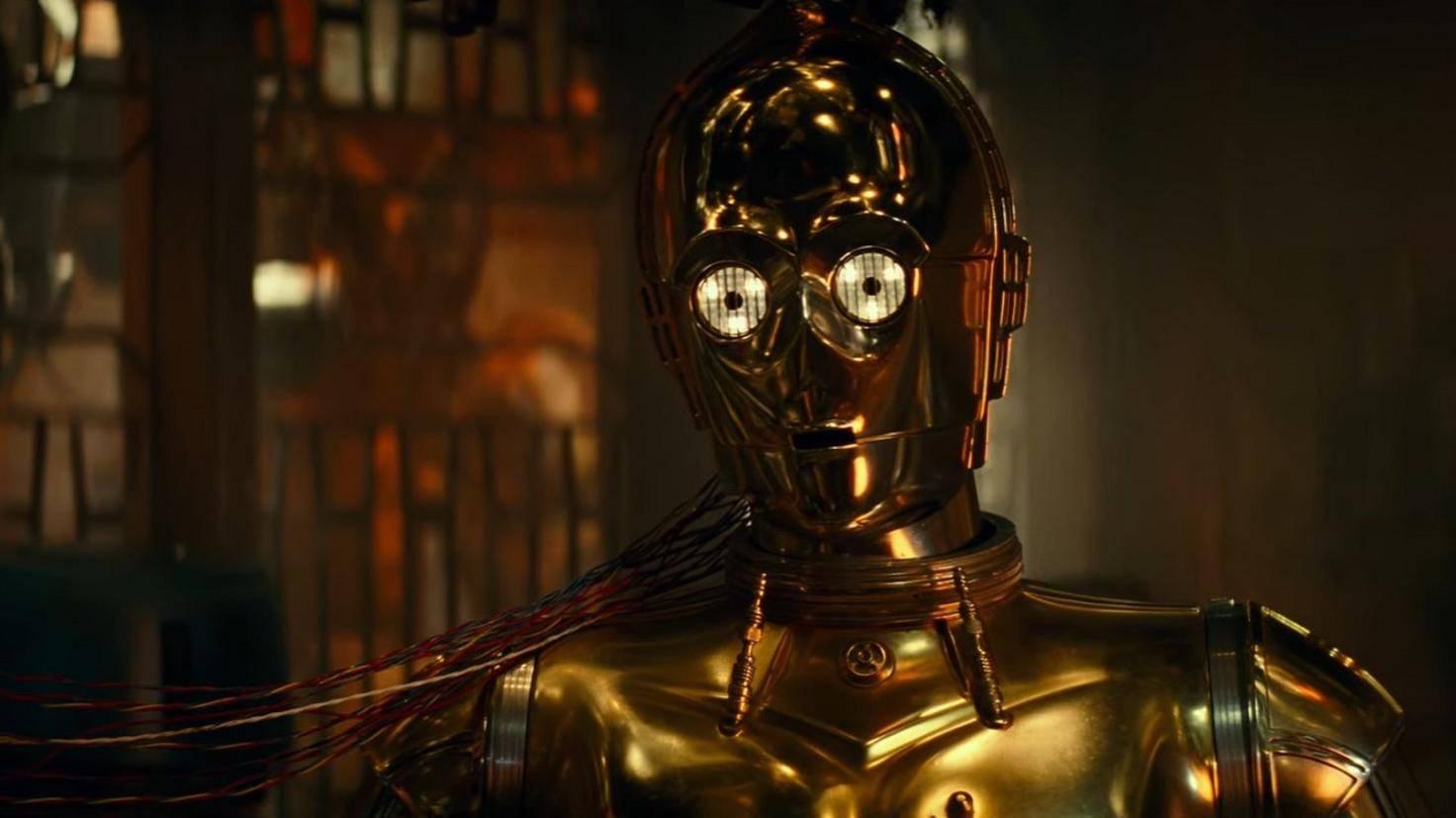 C3PO sieht seine Freunde im Trailer zum letzten Mal.