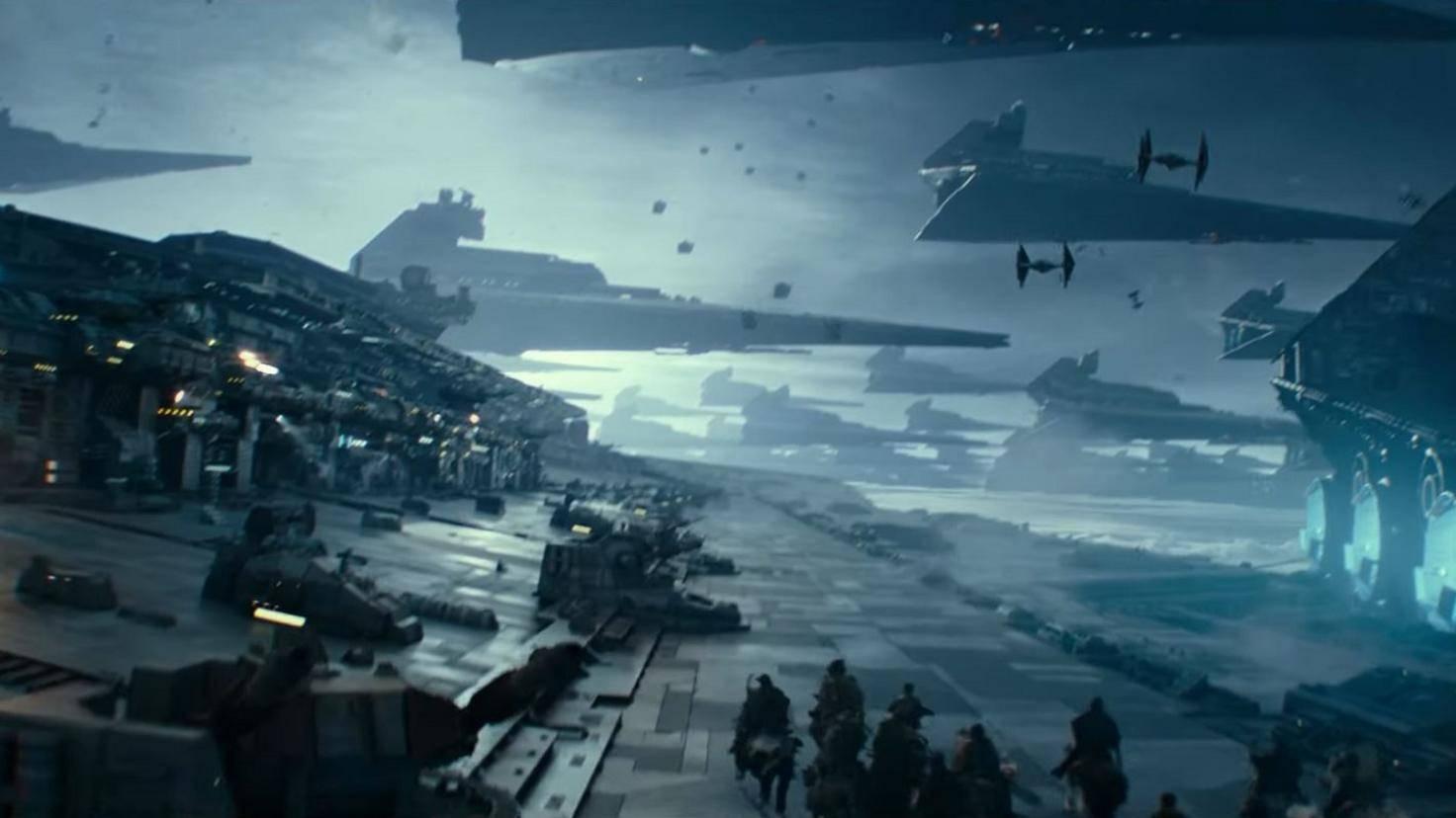 Star Wars 9 Reiter auf Sternenzerstörer