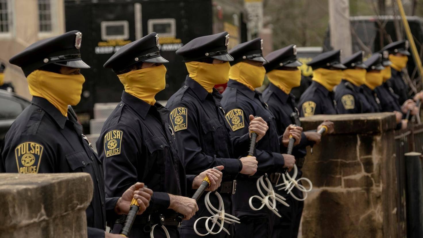 Watchmen-polizisten