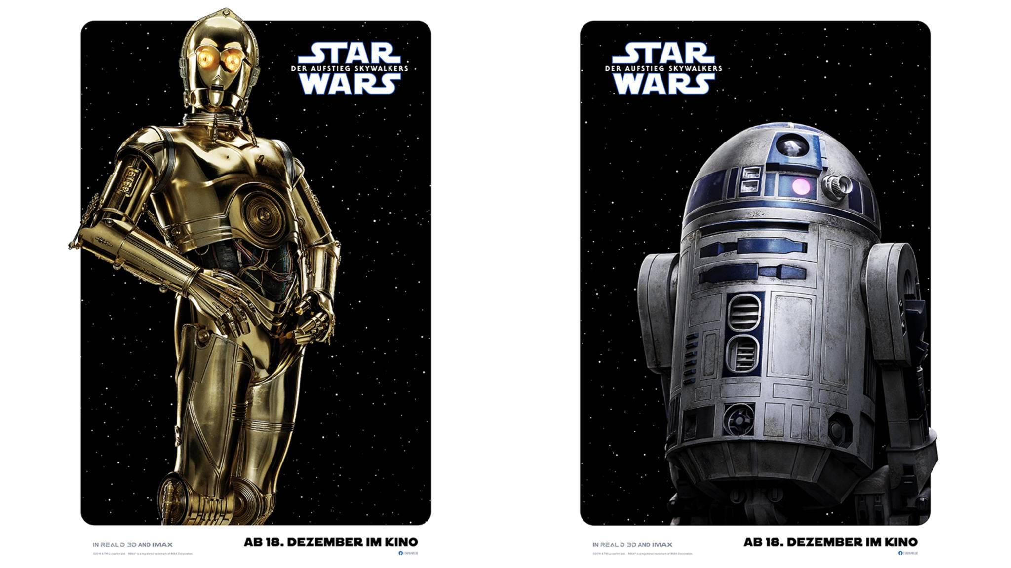 Star Wars Aufstieg Skywalkers C-3PO R2D2