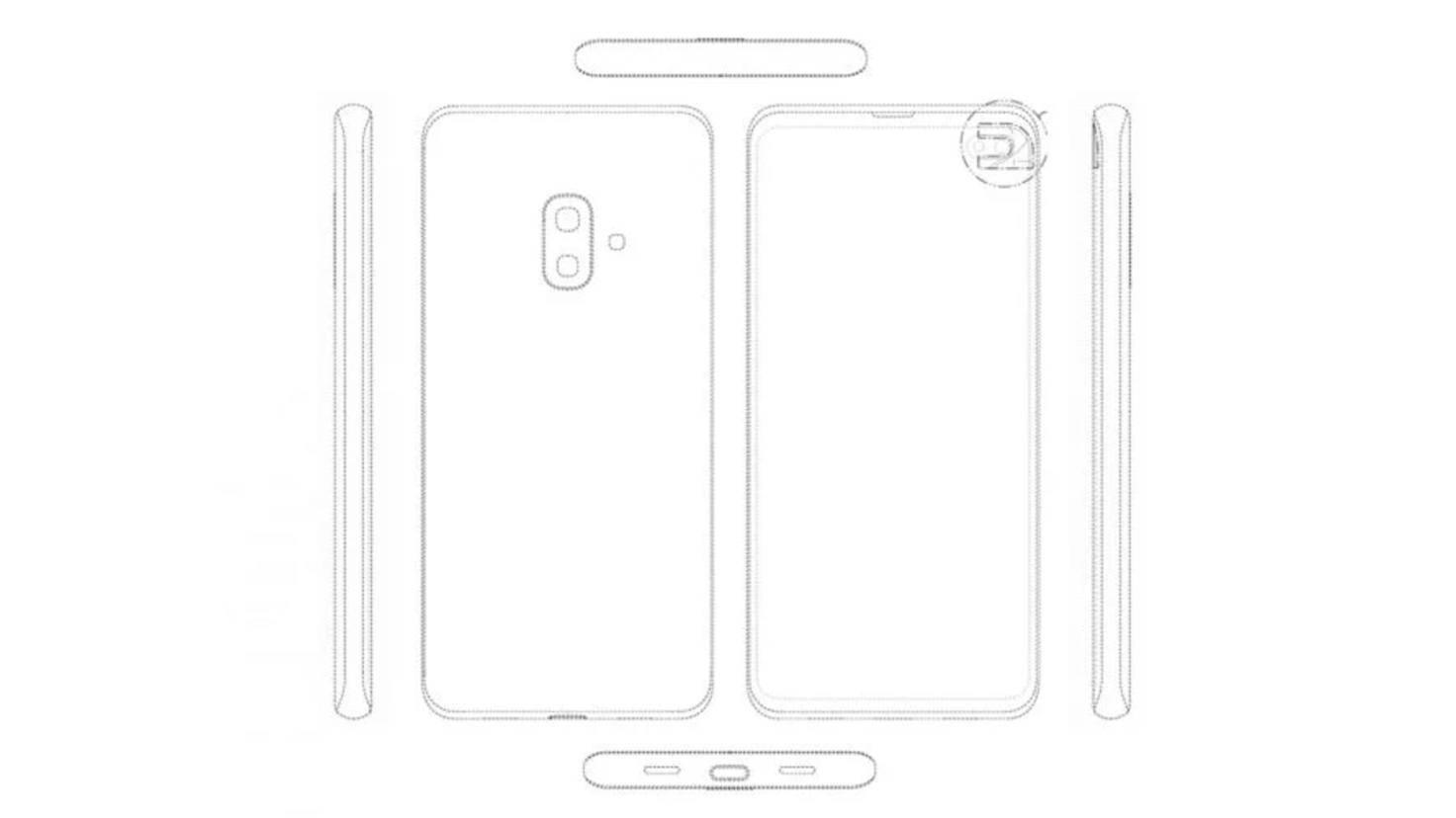 Galaxy S10 Lite Patent