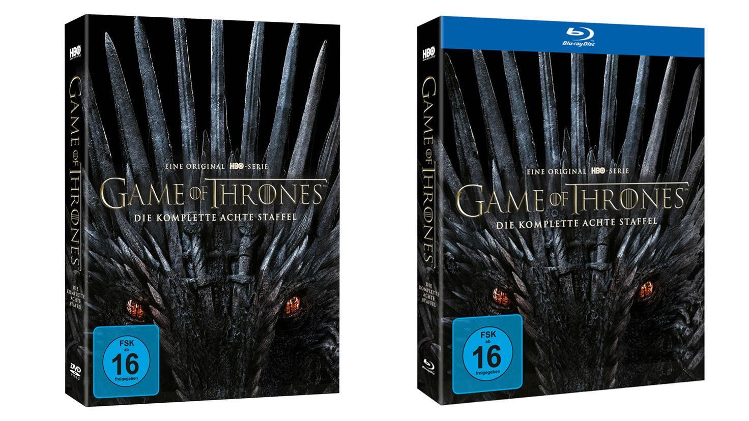 Game of Thrones Staffel 8 Packshot