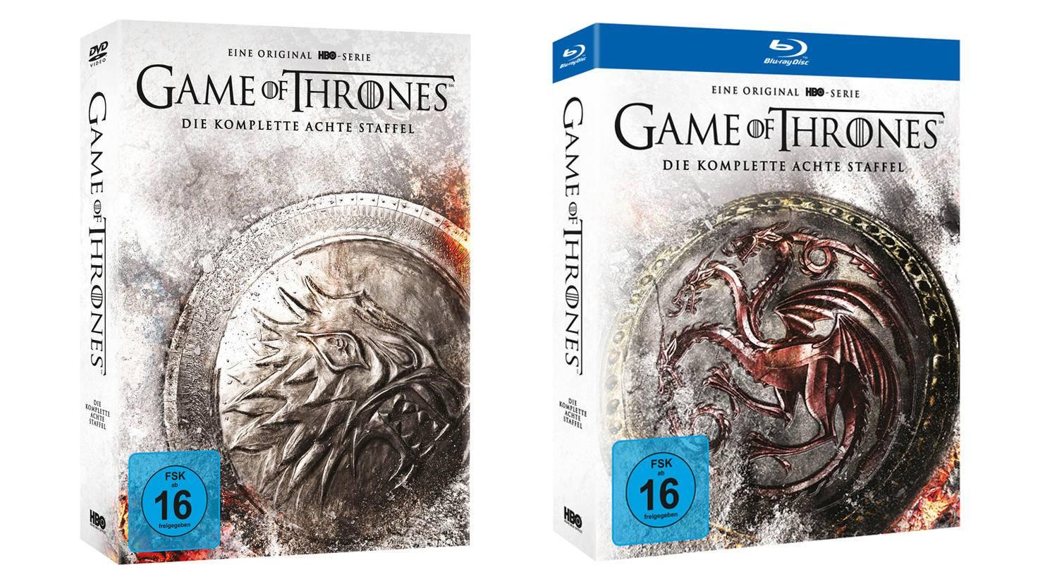 Game of Thrones Staffel 8 SE Packshot