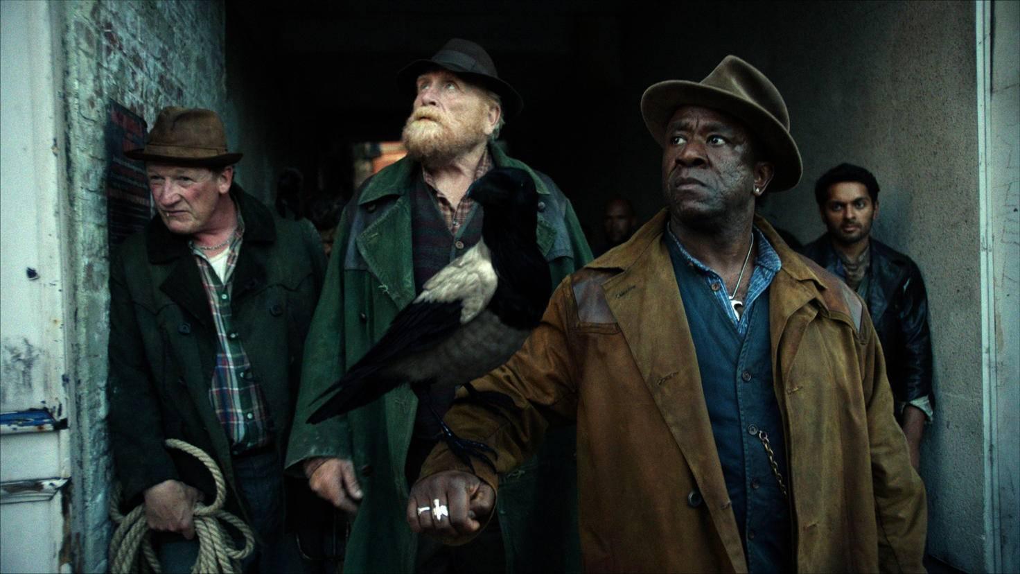 His Dark Materials James Cosmo und Lucian Msamati als Farder Coram und John Faa