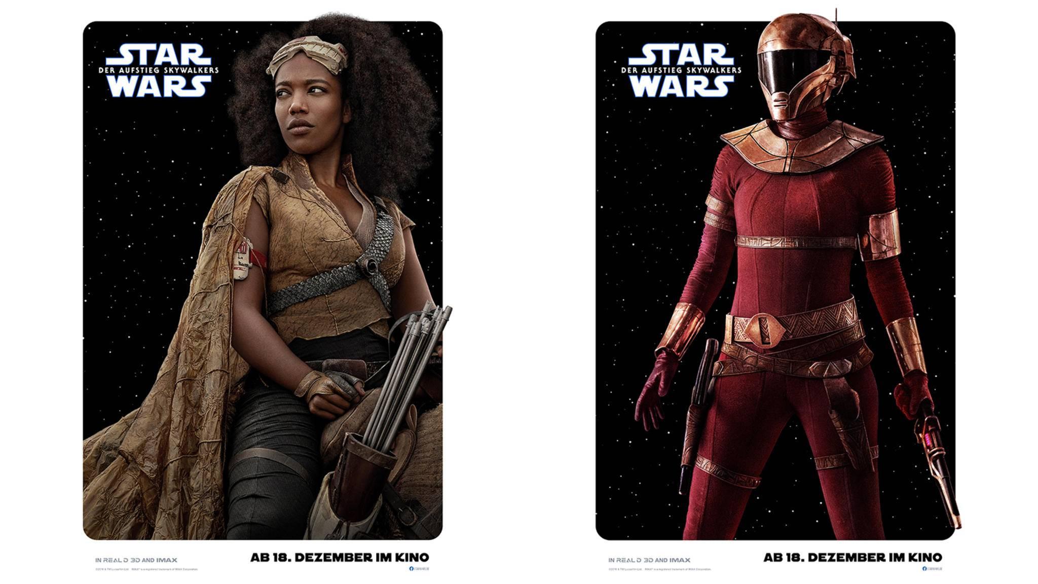 Star Wars Aufstieg Skywalkers Jannah Zurri