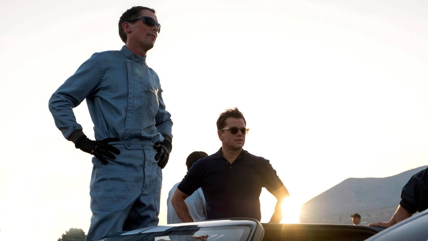 Le Mans 66 Christian Bale Matt Damon