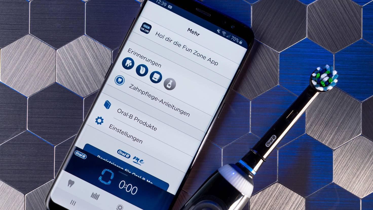 Oral-B Genius X 20000N Test App Zusatzfunktionen