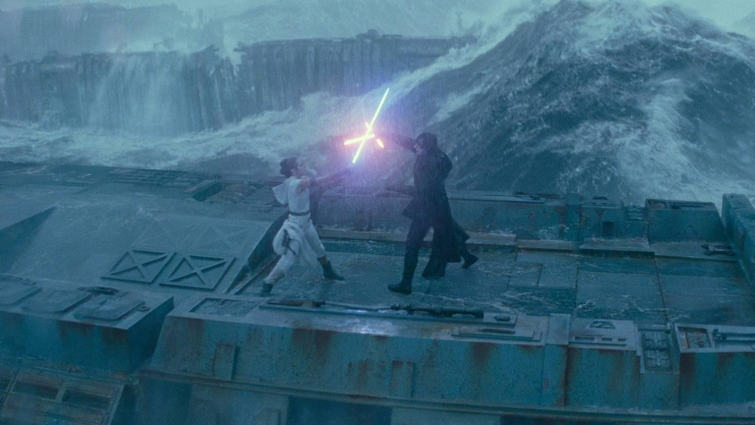 Star Wars Aufstieg Skywalkers Rey Kylo Ren