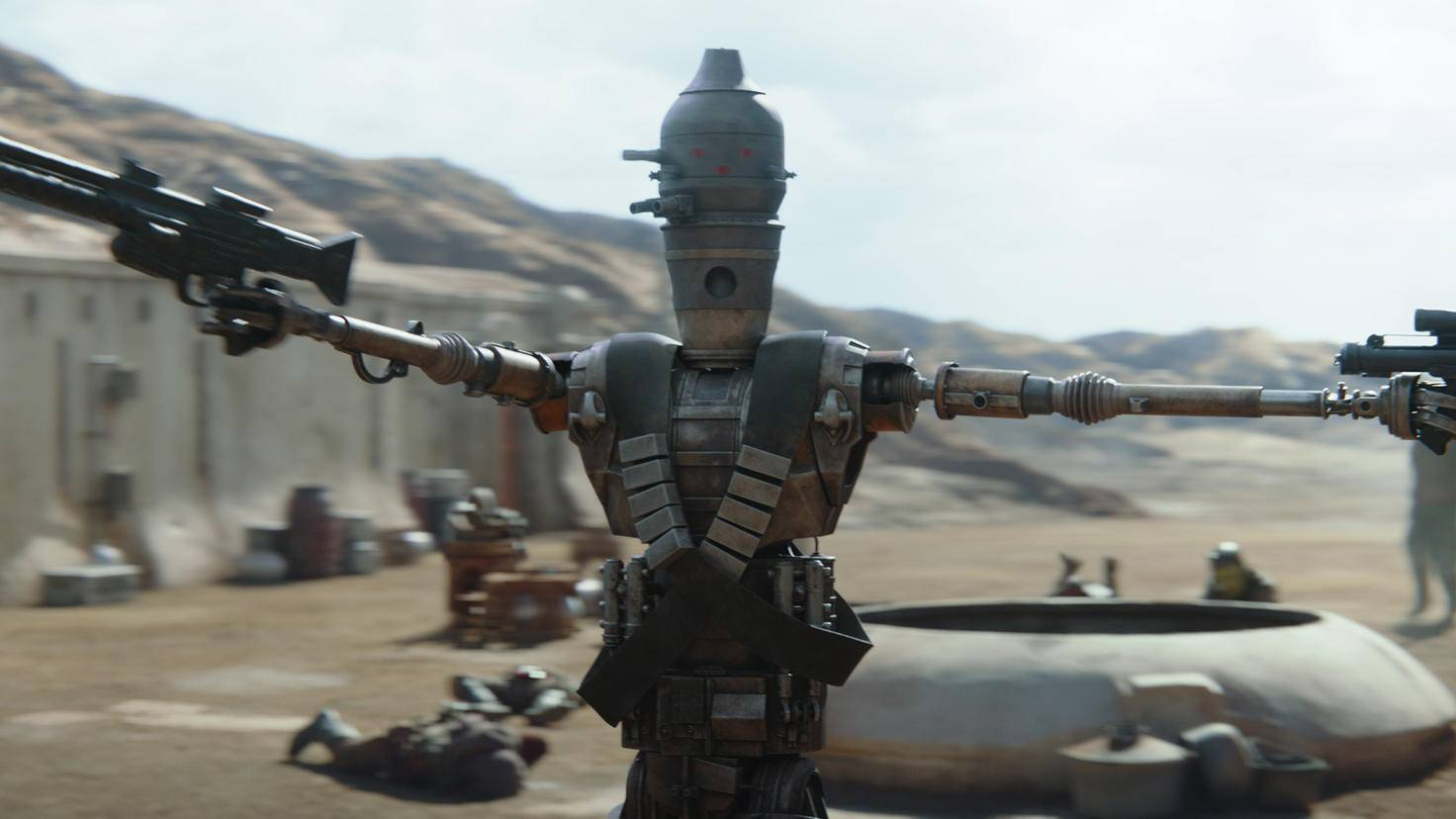 The Mandalorian Taika Waititi als IG-11