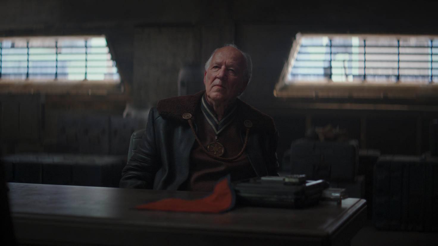 The Mandalorian Werner Herzog als Client