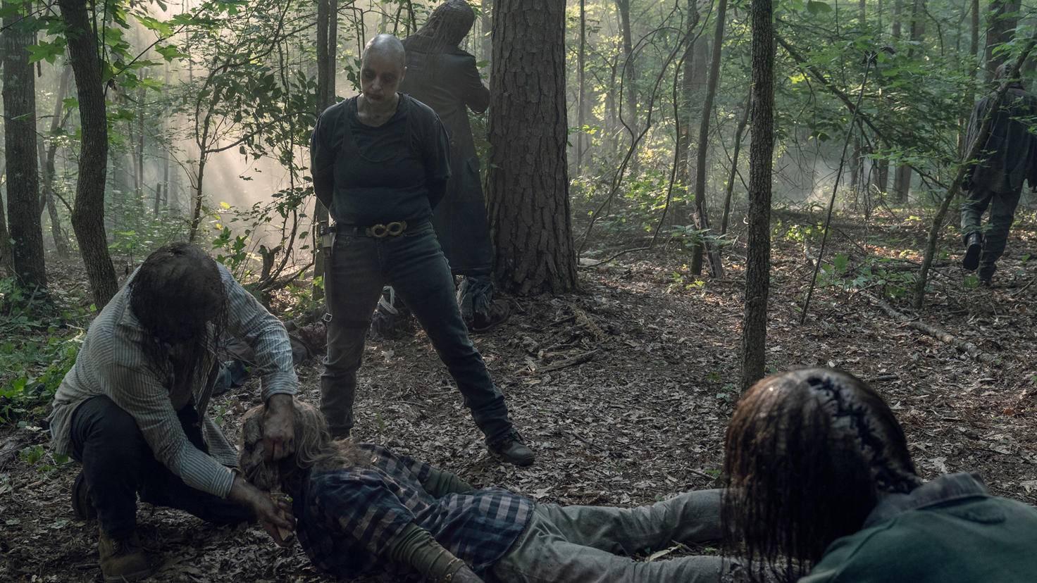 The Walking Dead-S10E05-Alpha-Beta-Jace Downs-AMC