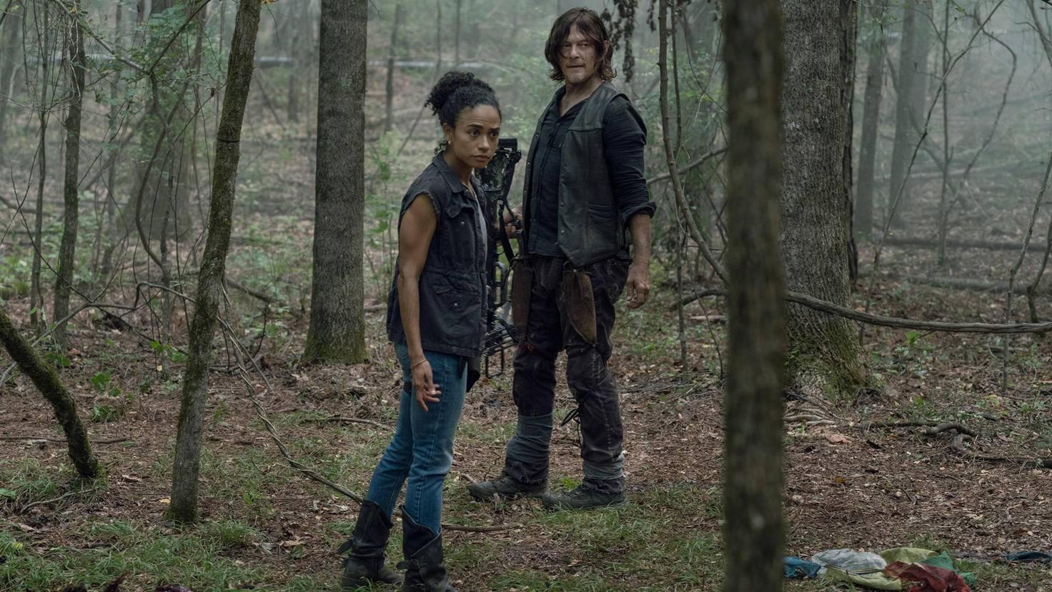 The Walking Dead-S10E05-Connie-Daryl-Jace Downs-AMC