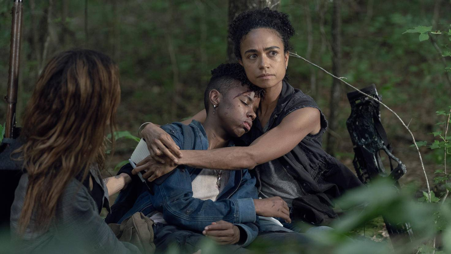 The Walking Dead-S10E05-Connie-Kelly-Magna-Jace Downs-AMC