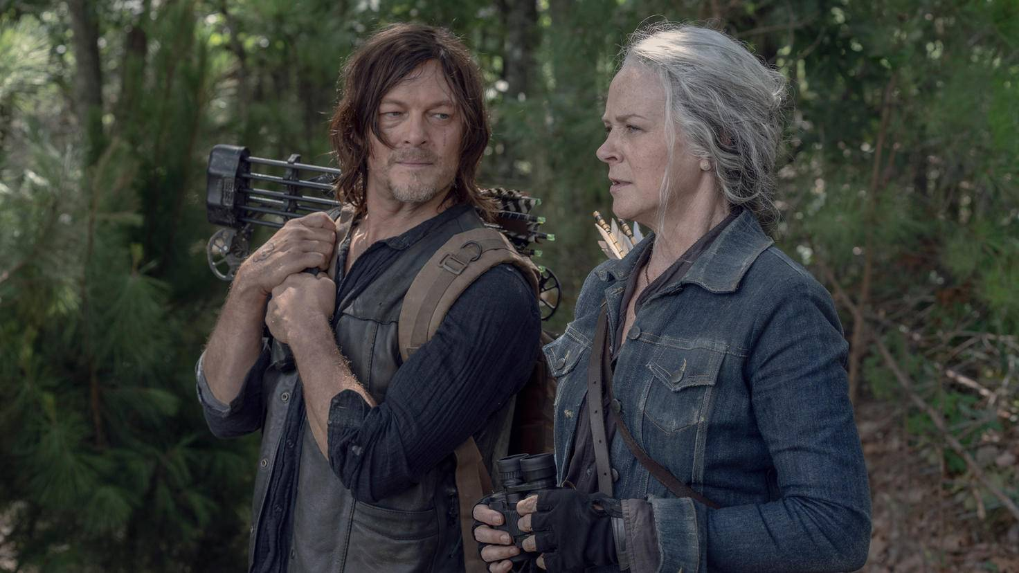 The Walking Dead-S10E06-Carol-Daryl-Jace Downs-AMC