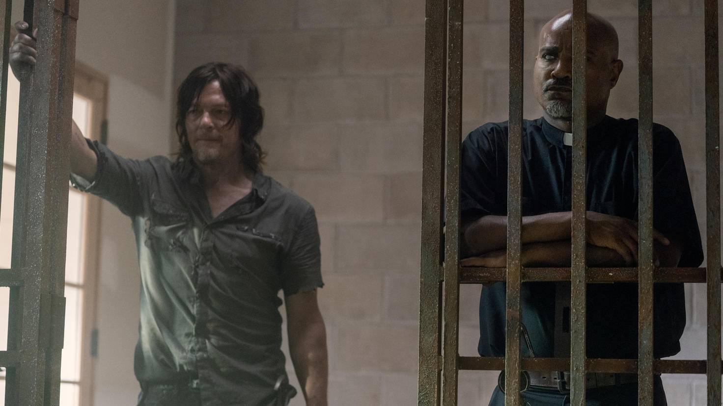 The Walking Dead-S10E07-Daryl-Gabriel-Jace Downs-AMC