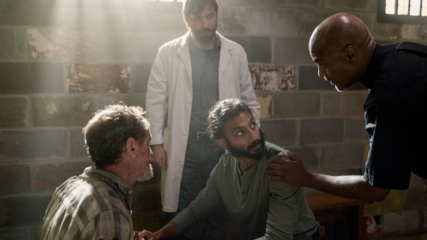 The Walking Dead-S10E07-Siddiq-Dante-Gabriel-Whisperer-Jace Downs-AMC