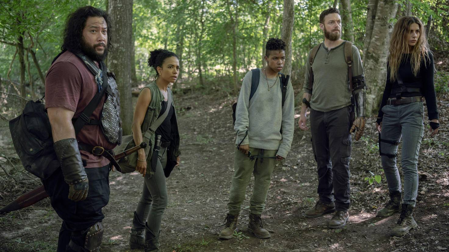 The Walking Dead-S10E08-Jerry-Connie-Kelly-Aaron-Magna-Gene Page-AMC